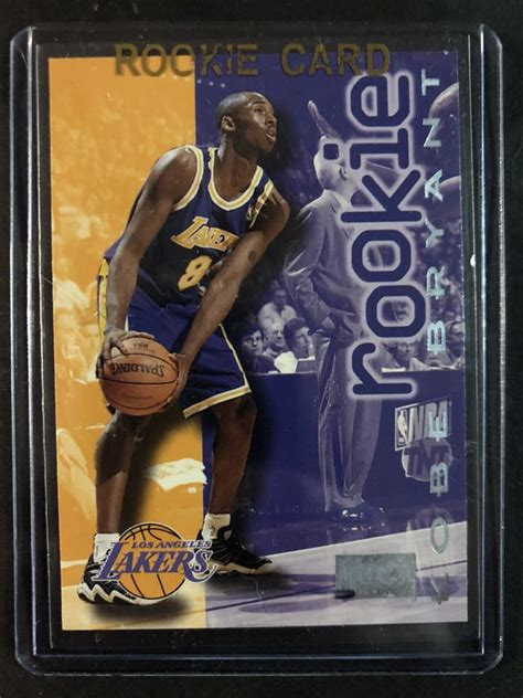 Buy from many sellers and get your cards all in one shipment! Kobe Bryant 1996-97' SkyBox / FLEER ROOKIE Basketball Card. Kobe Bryant LA LAKERS Basketball ...