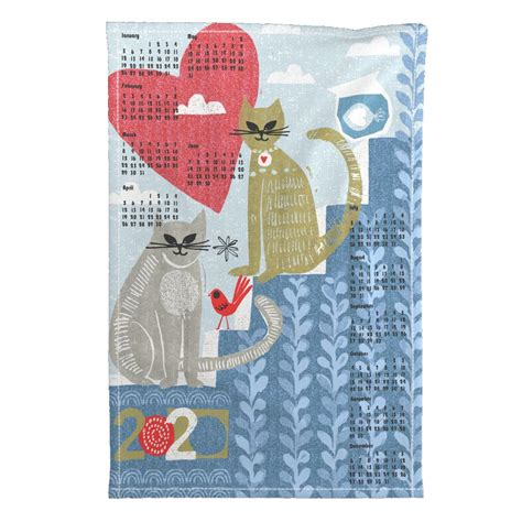 cats home tea towel special edition ottomanbrim