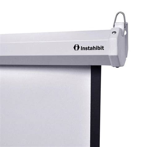 ceiling mount for projector screen instahibit wall ceiling mounted pull projector