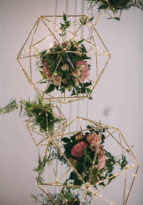 Trends We Love 40 Hanging Wedding Decor Ideas Romantic