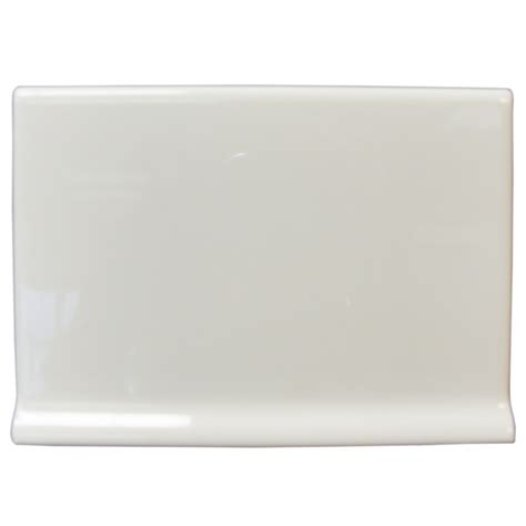 cove base ceramic tile shop interceramic wall tile collection white ceramic cove base tile common 4 1 4 in x 6 in