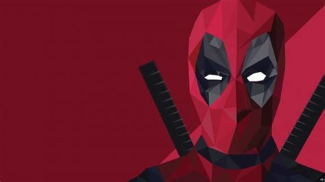 Low Poly Deadpool Wallpaper  Digital Art Hd Wallpapers