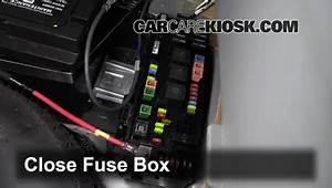 Interior Fuse Box Location  2005-2008 Dodge Magnum