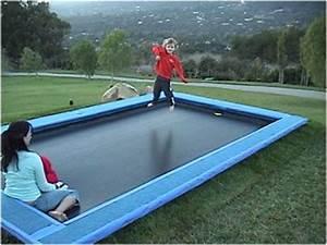 In Ground Trampolin : best 25 sunken trampoline ideas on pinterest ground trampoline in ground trampoline and ~ Orissabook.com Haus und Dekorationen