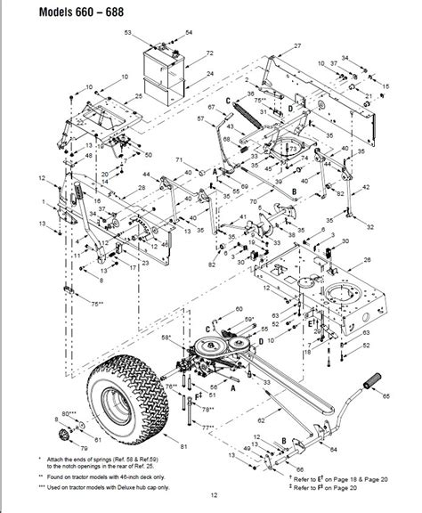 Mtd Lawn Tractor Parts Diagram Wiring Fuse