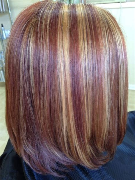 copper  blonde highlights pics bing images beauty
