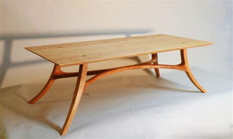 handmade sam maloof inspired cocktail table   blok