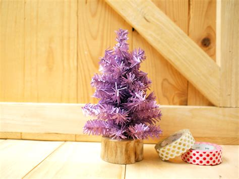 small christmas tree purple on luulla
