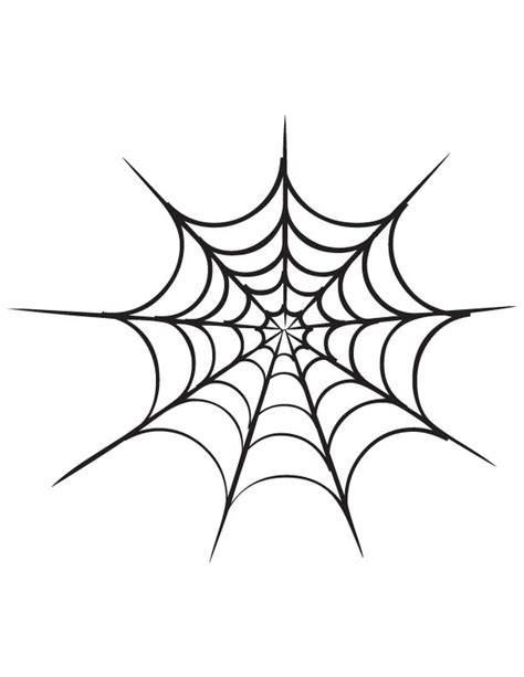 spider web coloring page   spider web