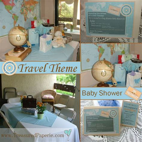 Travel Themed Baby Shower - 62 best theme garden images on