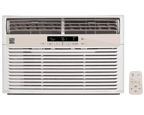 kenmore   btu room air conditioner window unit white shop    shopping