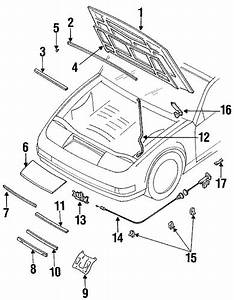 Hood  U0026 Components For 1990 Nissan 300zx