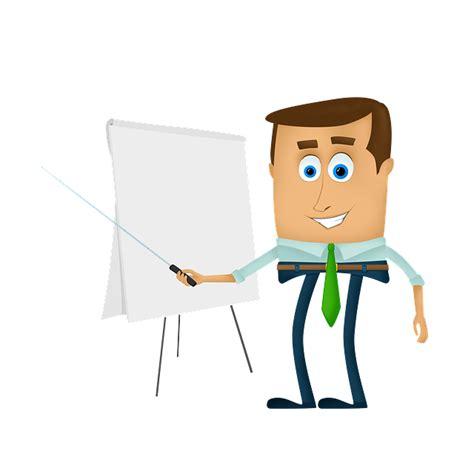 ilustrasi gratis pengusaha kartun latihan kuliah