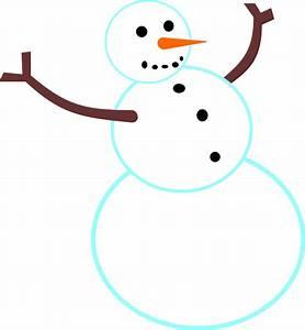Clip Art Snow Man | New Calendar Template Site