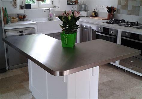 cuisine plan de travail inox cuisine plan de travail inox maison design bahbe com
