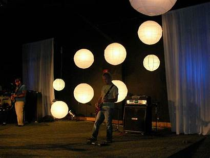 Stage Church Concert Simple Cool Creative Backdrop