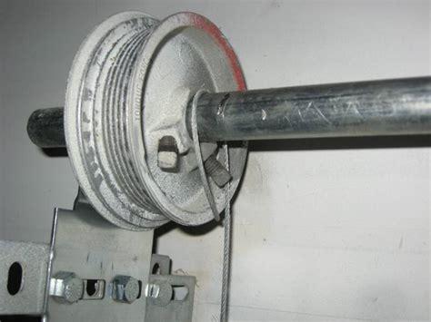 garage door cable on one side menifee garage door broken cable call 951 287 8611 today