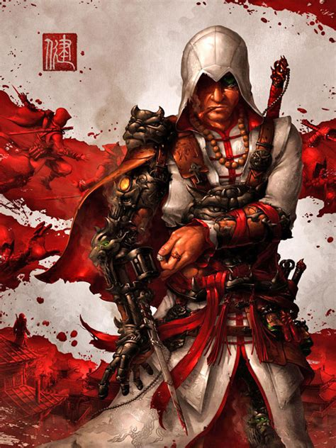 gorgeous  fan  assassins creed  artworks show