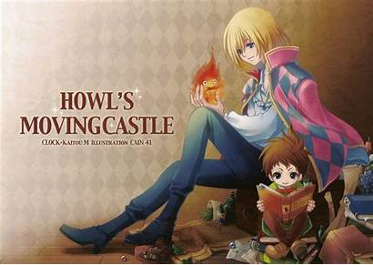 Calcifer Howl Moving Castle Wallpaperaccess Male Wallpapers