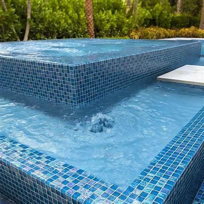 Tile Glass Pool Mosaic Mosaics Swimming Jooinn