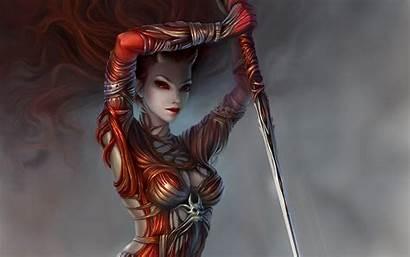Demon Horns Spear Weapons Desktop Backgrounds Wallpapers
