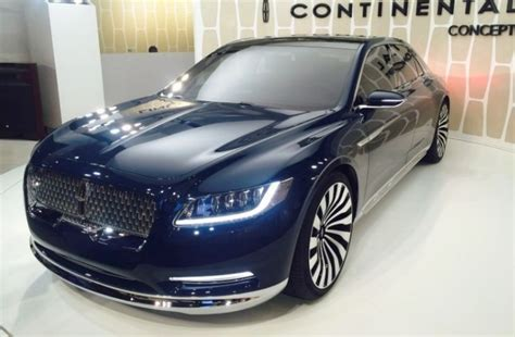 2018 Lincoln Continental Interior, Price, And Release Date