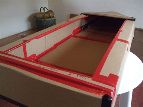 Cardboard Boat Test by The Cardboard Boat Building Challenge Jambar Team Building