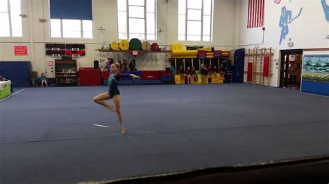 level 4 gymnastics floor routine 9 1 2014 youtube