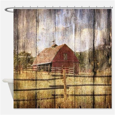 farm shower curtains farm fabric shower curtain liner