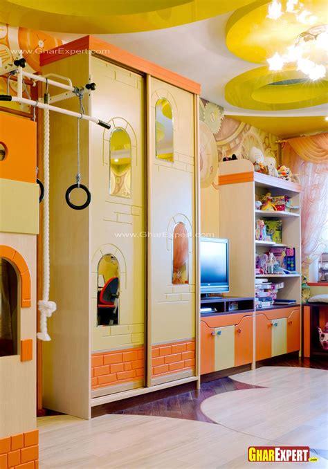 Cupboard For Children by Cupboard Design For Children Room Gharexpert