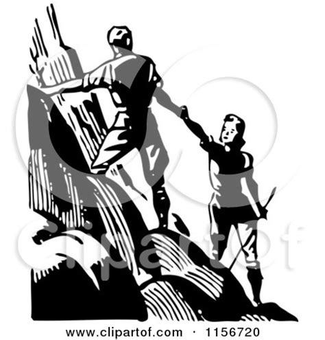 royalty  rf couple hiking clipart illustrations