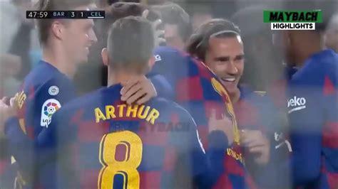 Barcelona vs Celta Vigo (4-1) Highlights & Goals Resumen ...