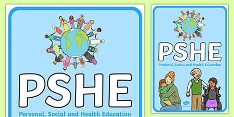 Pshe Display Poster  Personal, Social, Emotional, Health