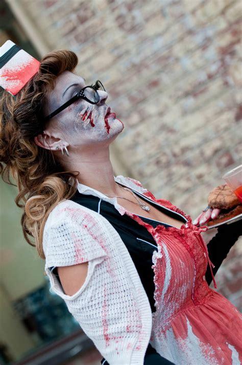 zombie nurse walks survival walk