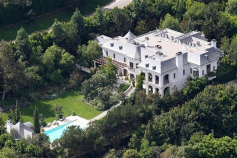 michael jackson photos photos file photo the beverly mansion where michael jackson died