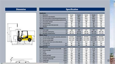 hyundai  tonnes chariot elevateur diesel  stade mat df