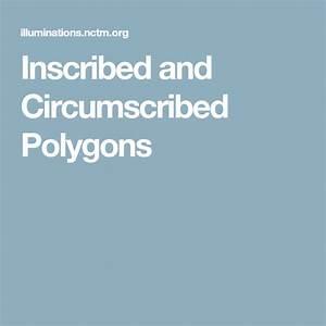 Inscribed And Circumscribed Polygons