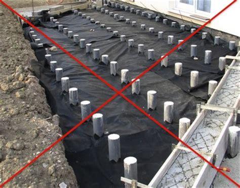 plots beton pour terrasse bois terrasse bois plot beton