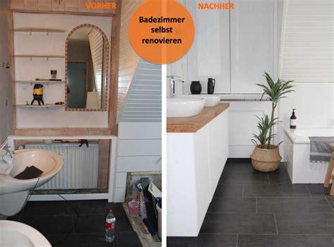 Badezimmer Selbst Modernisieren by Die Besten 25 Bad Vorher Nachher Ideen Auf