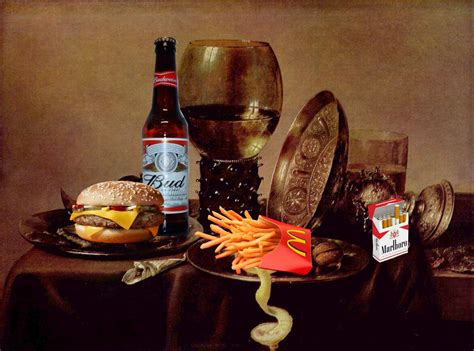 A Modern Still Life Or A Photo Of The Scraps