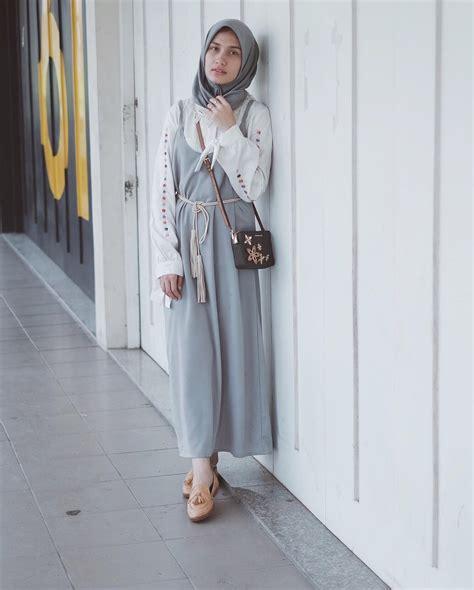 style hijab kece buat cewek bertubuh kurus  tiru