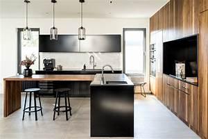 Cuisine Moderne Design : design une cuisine moderne montr al maison et demeure ~ Preciouscoupons.com Idées de Décoration