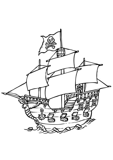pirates  coloriage de pirates coloriages pour enfants