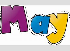 Month Of May Clip Art Clipartsco