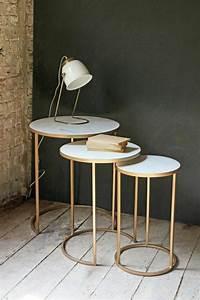 Table Gigogne Marbre : table basse en marbre 58 id es pour donner du style au salon pinterest ~ Teatrodelosmanantiales.com Idées de Décoration