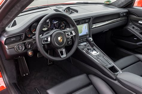 porsche carrera interior 2017 2017 porsche 911 turbo and 911 turbo s review