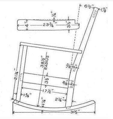 wooden rocking chair plans rocking chair