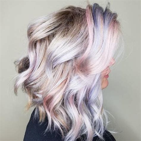 Colored Hairstyles by 29 Colorful Rainbow Hair Ideas Trending In 2019