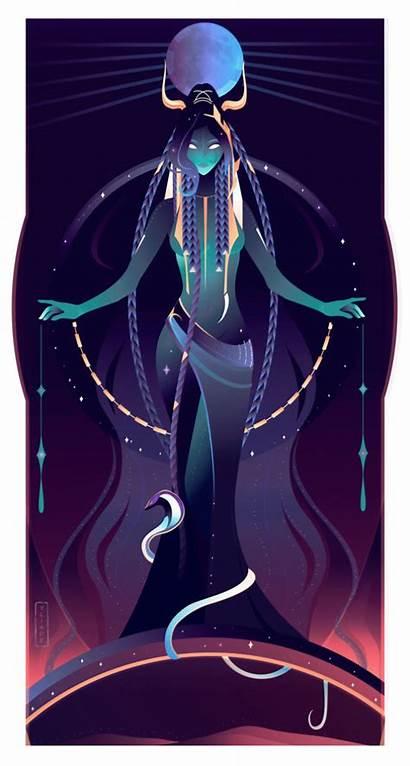 Egyptian Nut Gods Goddess Goddesses Sky Ancient