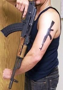 30 Killer Gun Tattoos